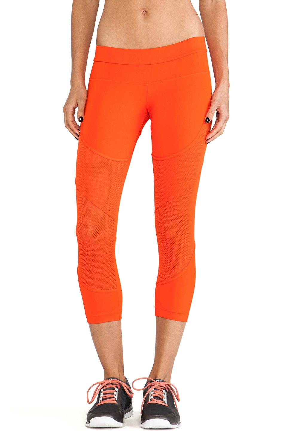 adidas by Stella McCartney Run 3-4 Tight Legging in Summer Red