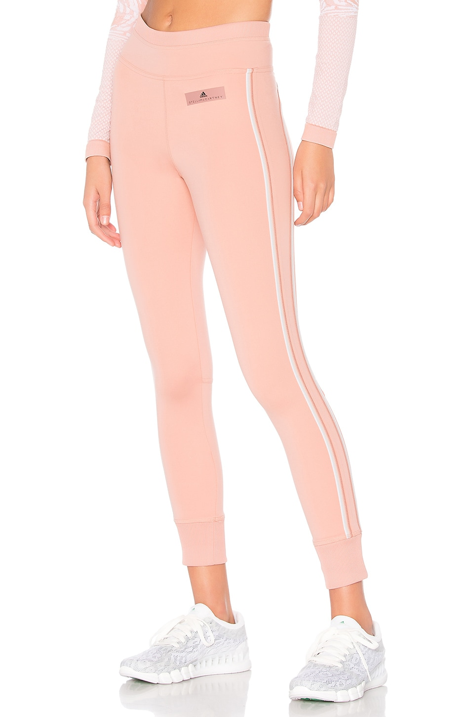 adidas by Stella McCartney Comfort Legging in Cinnamon Blush