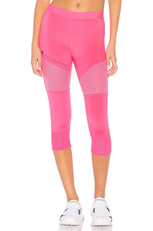 adidas by Stella McCartney Essential 7/8 Legging in Solar Pink