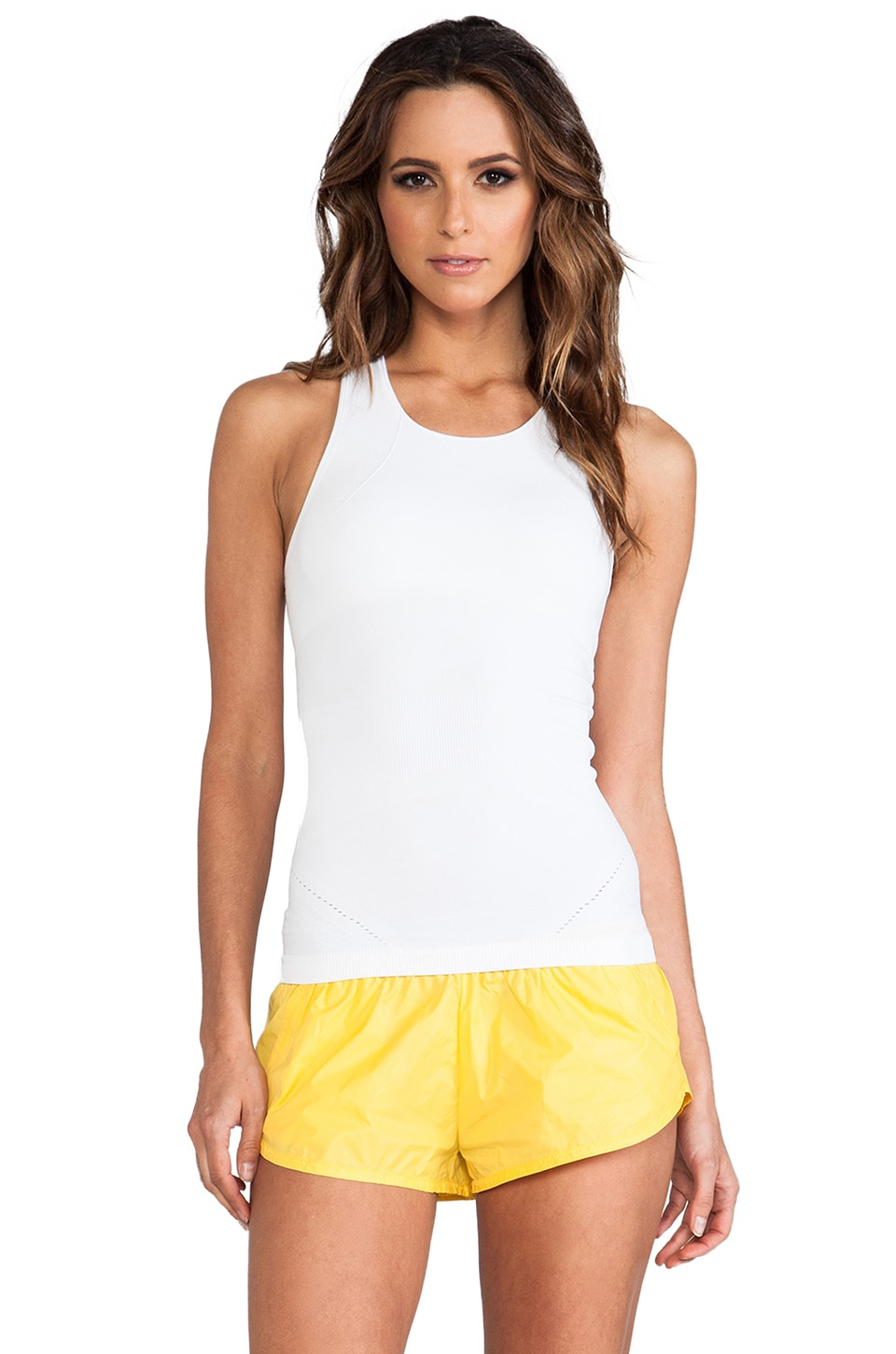 adidas by Stella McCartney YO Seamless Tank in White