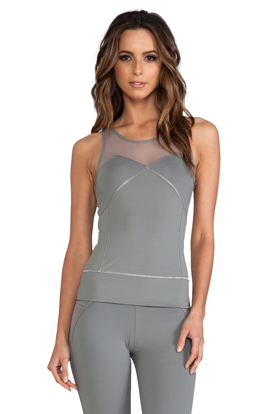 adidas by Stella McCartney Run Perf Tank in Mystery