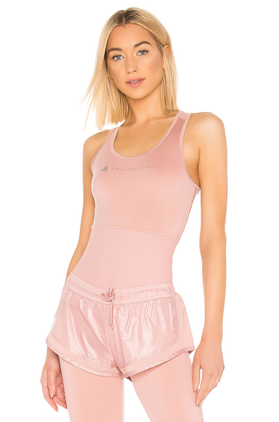 adidas by Stella McCartney P Ess Tank in Band Aid Pink