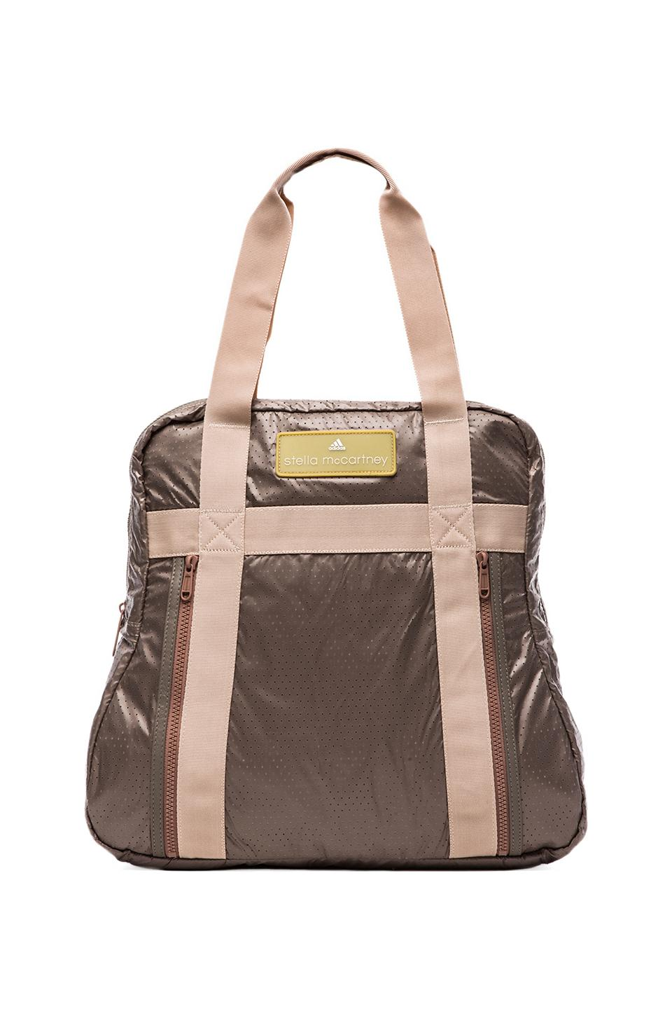 adidas by Stella McCartney Yoga Bag in Grey & White