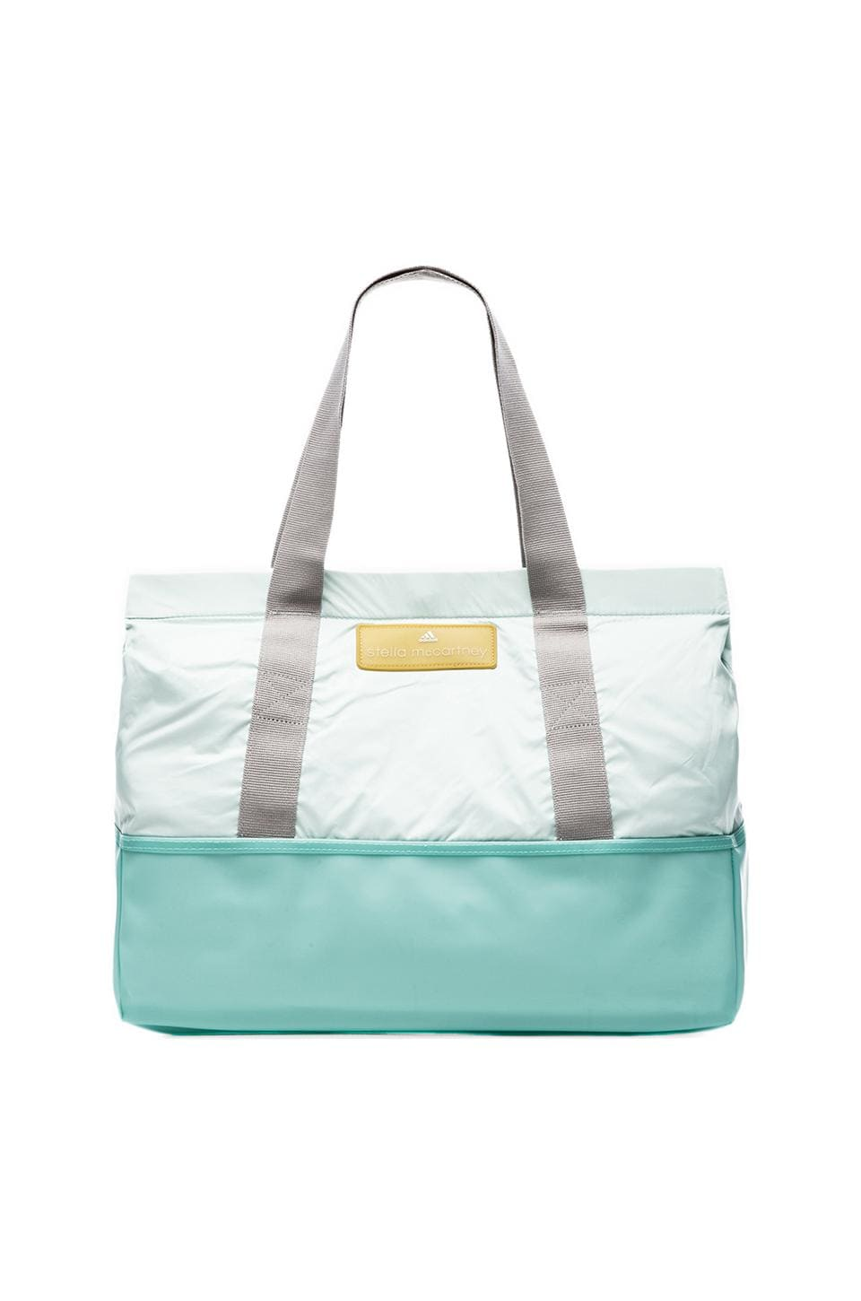 adidas by Stella McCartney Swimbag in Light Blue & White