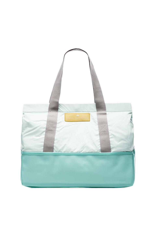 adidas by Stella McCartney Swimbag in Light Blue & White