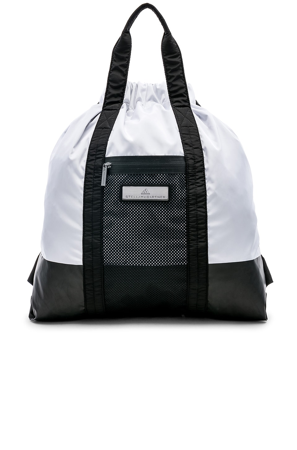 adidas by Stella McCartney Gym Sack in Black & White