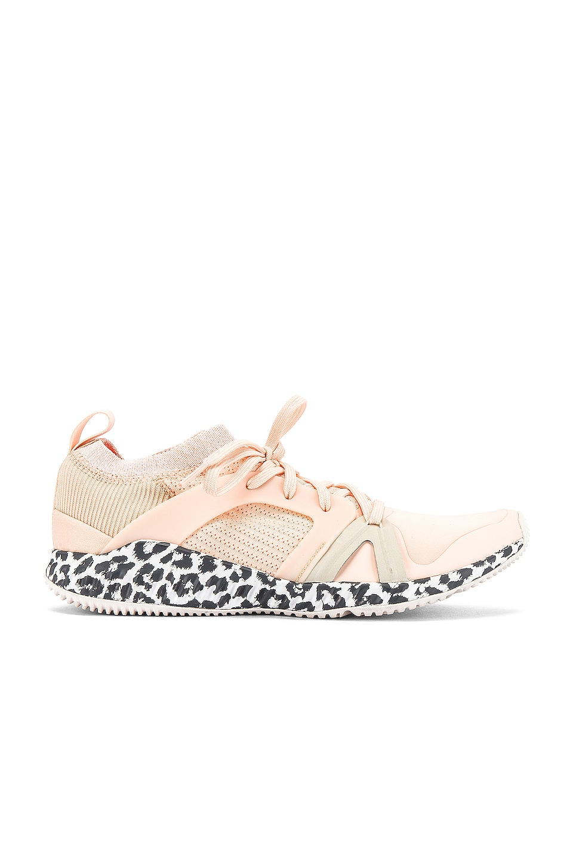 adidas by Stella McCartney Crazy Train Pro Sneaker in Soft Apricot & Solar Orange