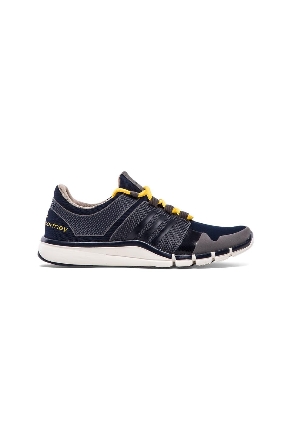 adidas by Stella McCartney Sequel Athletic Shoe in Grey & Indigo & Yellow