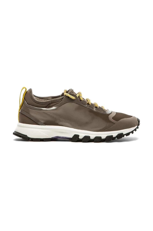 adidas by Stella McCartney XT Adizero 2 Running Shoes in Cargo & Frost & Rich Purple