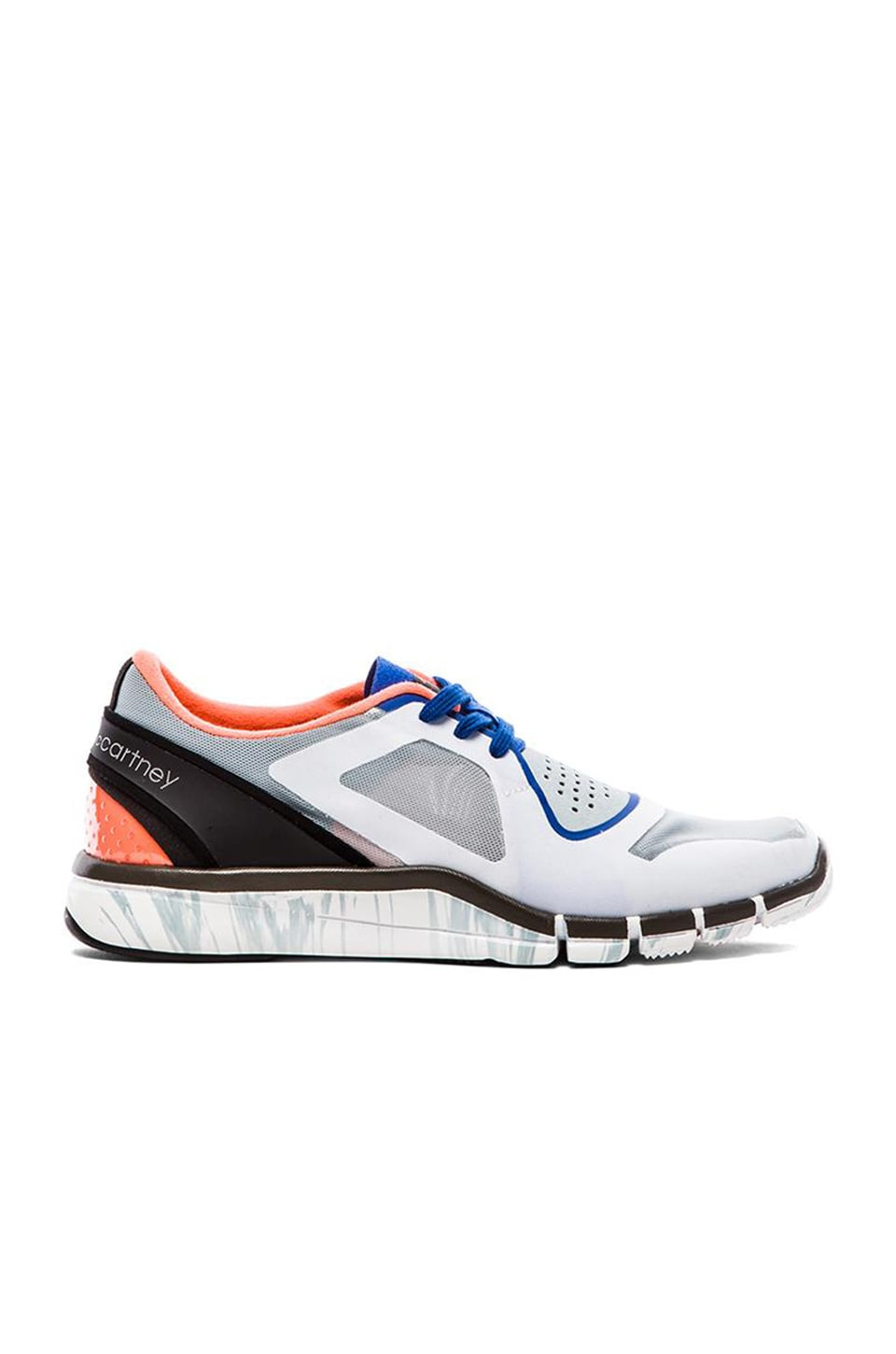 adidas by Stella McCartney Adipure Sneaker in Eggshell & Flight Blue