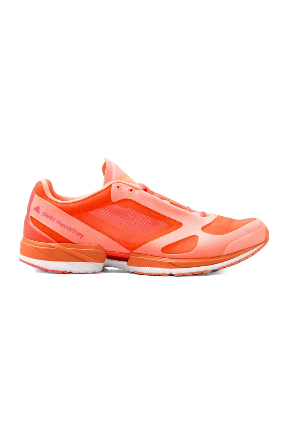 adidas by Stella McCartney Athletic Shoe in Ultra Bright/Turbo/Bliss Coral