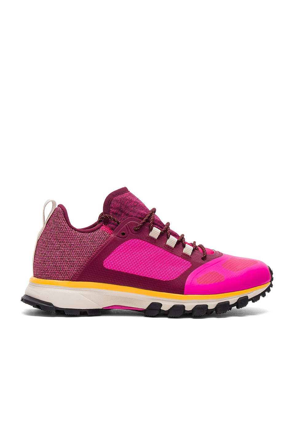 adidas by Stella McCartney Adizero XT Sneaker in Shock Pink & Ruby Red