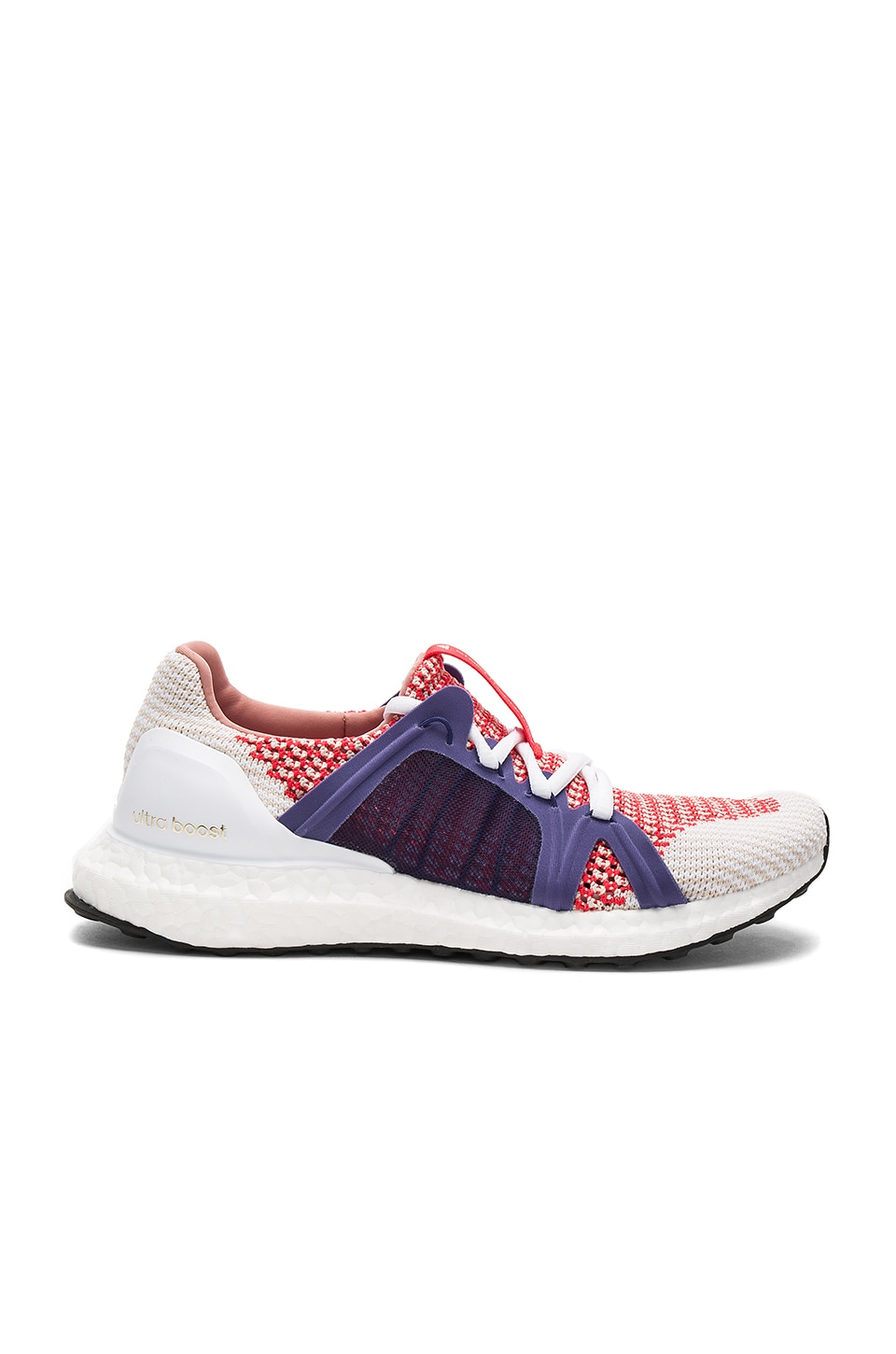adidas by Stella McCartney Ultra Boost Sneaker in Bright Red & Plum