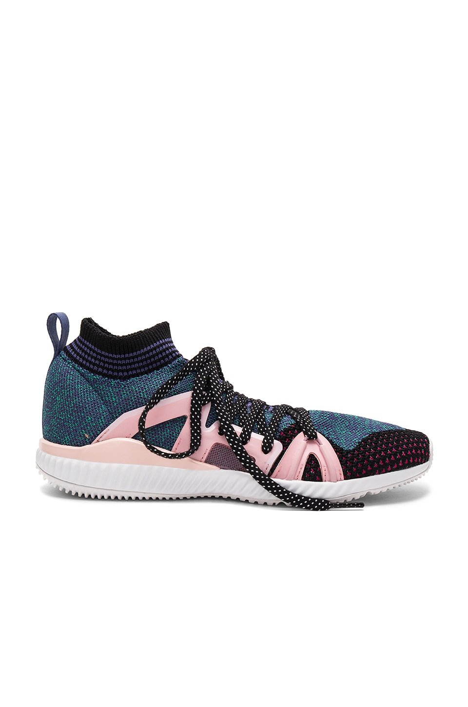 adidas by Stella McCartney Crazymove Bounce Sneaker in Black White & Ballet