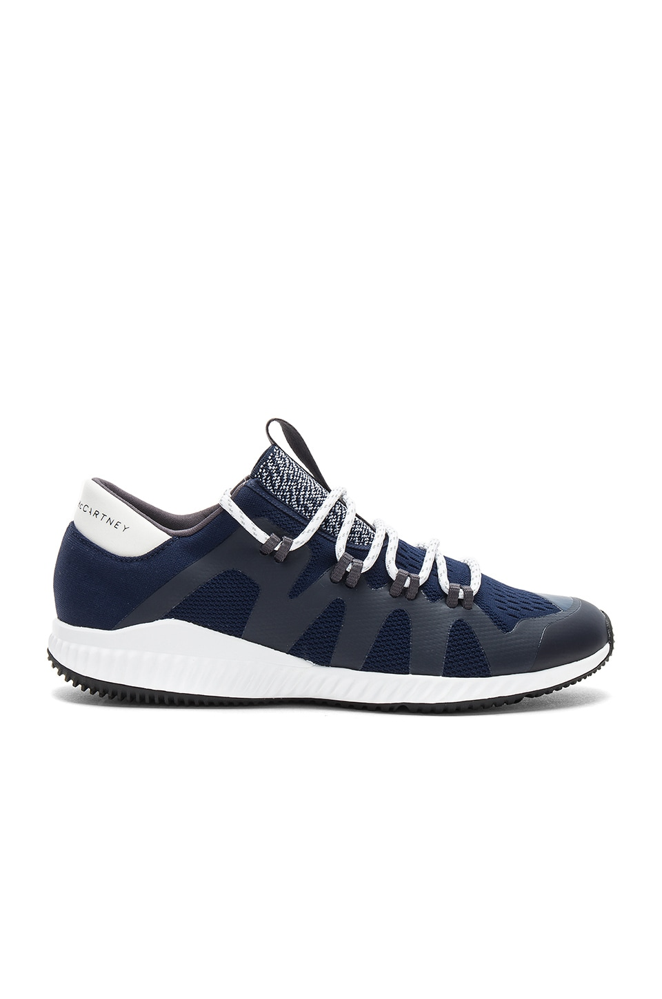 adidas by Stella McCartney Crazy Train Pro Sneaker in Collegiate Navy & Core White