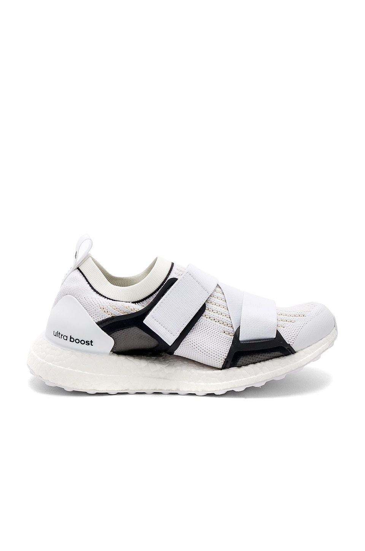 adidas by Stella McCartney UltraBOOST X Sneaker in Core White & Chalk White