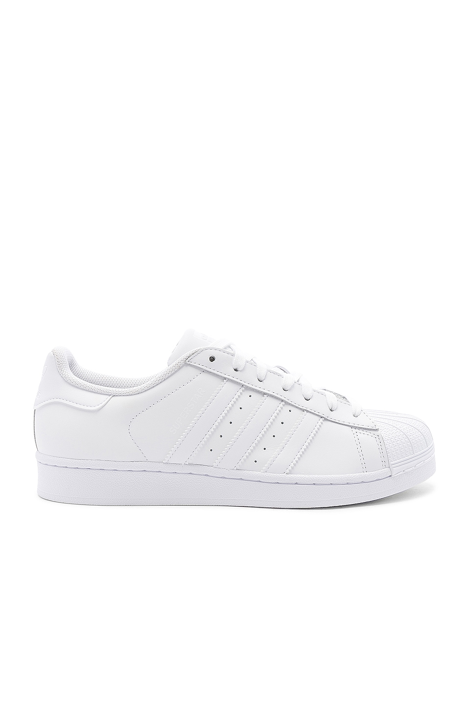 adidas Originals Superstar Foundation in White & White & White