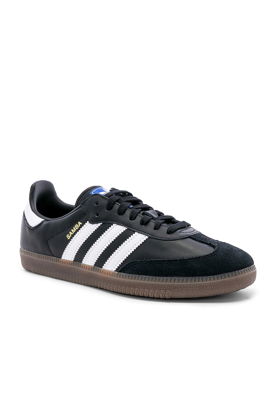 adidas Originals Samba OG in Black & White & Gum