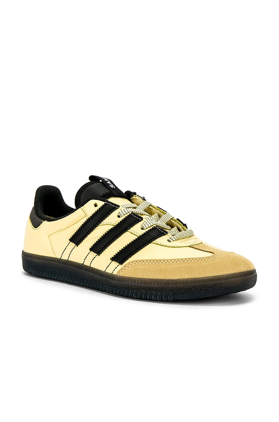 adidas Originals Samba OG MS in Easy Yellow & C Black & FTW White