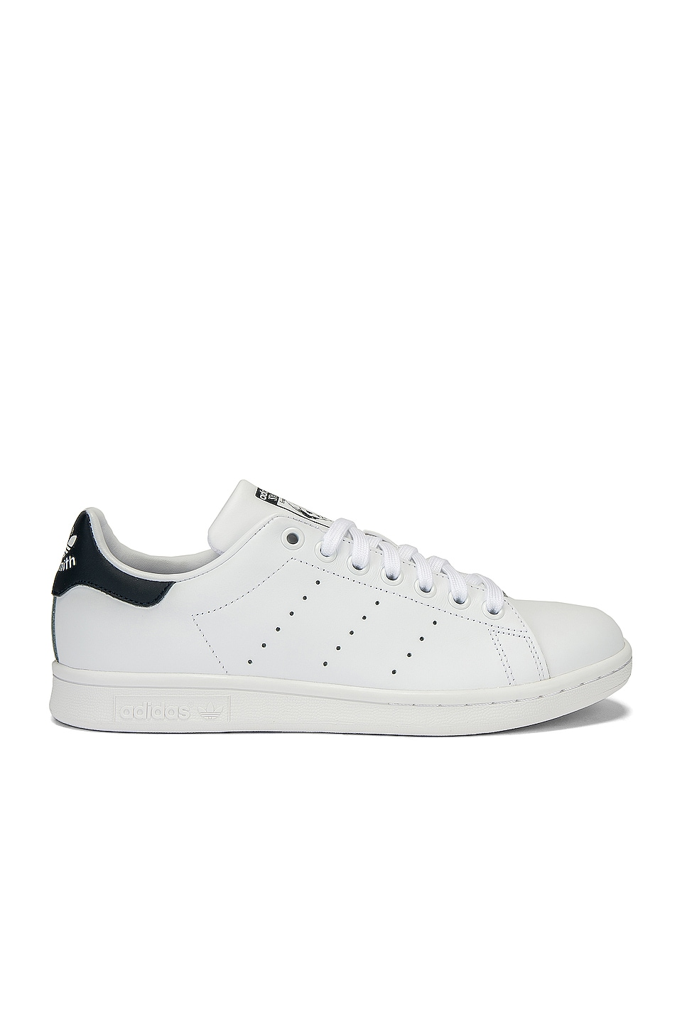 adidas Originals Stan Smith in White & Dark Blue