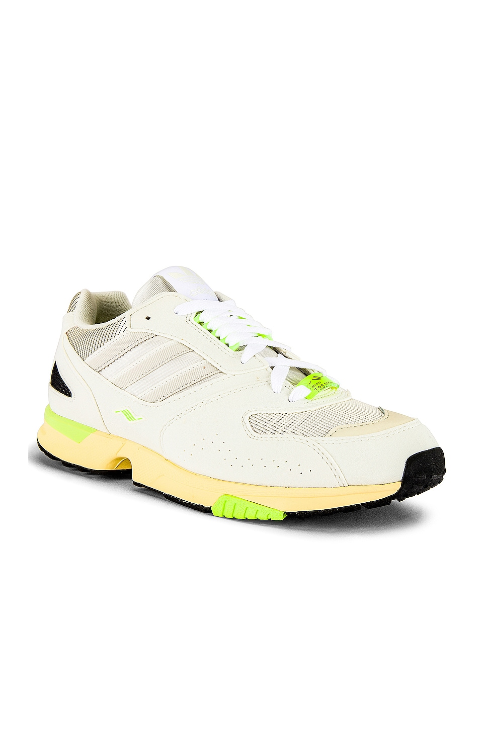 adidas Originals Adidas ZX 400 in Off White & White & Core White