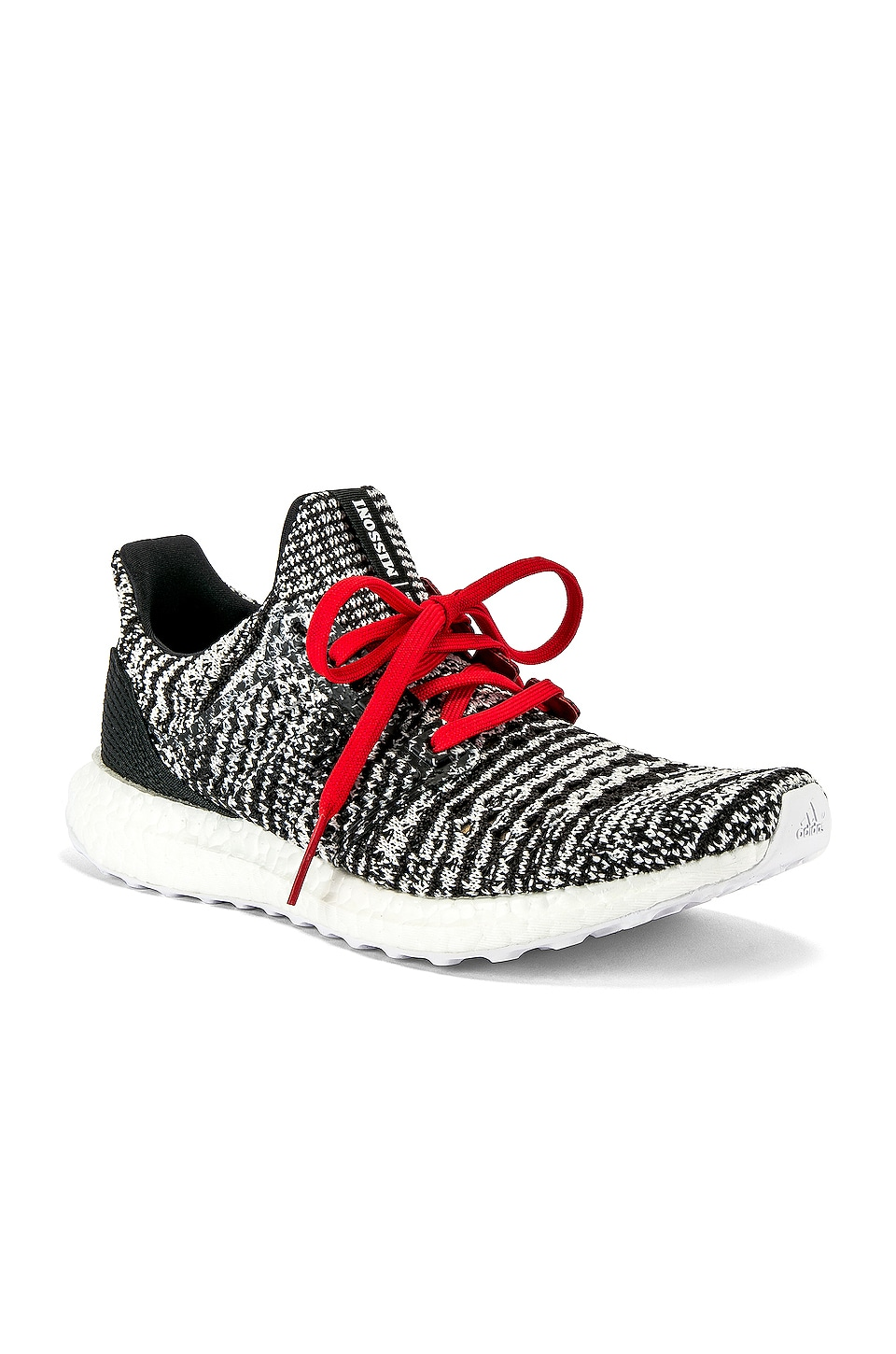 adidas by MISSONI Ultraboost Clima Sneaker in Black & White & Red