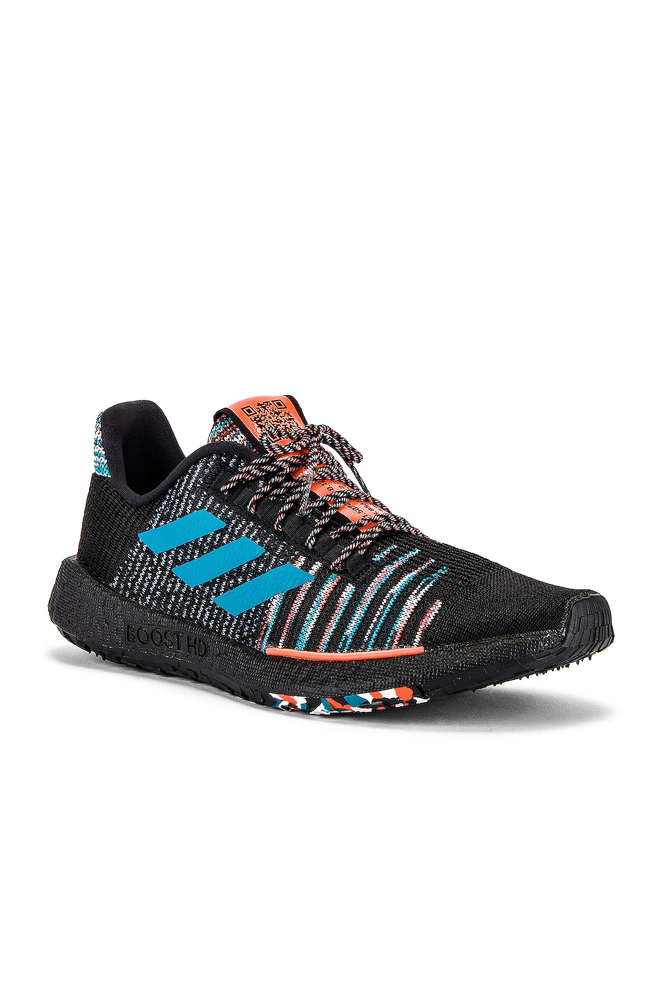 adidas by MISSONI Pulseboost HD in Black & White & Active Orange