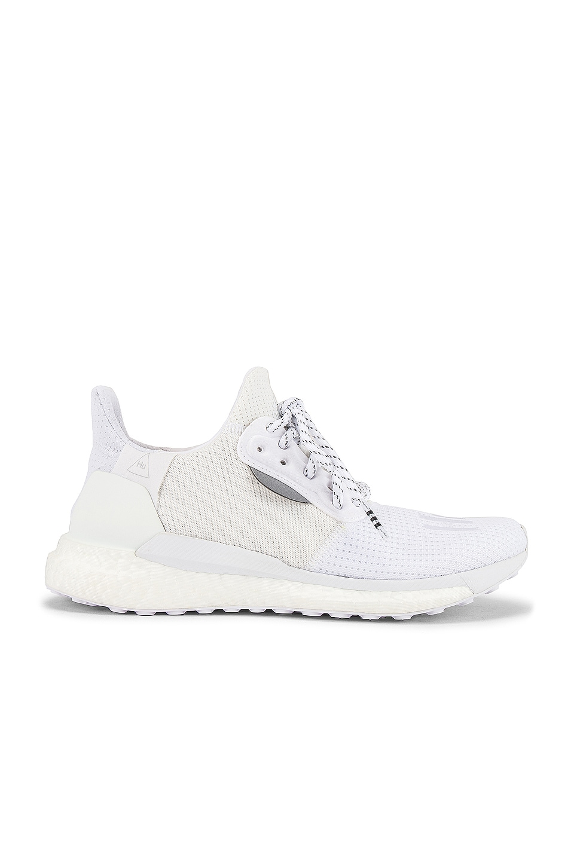 adidas x Pharrell Williams Solar Hu Proud Sneaker in White