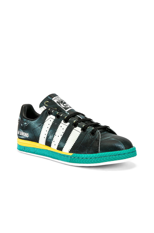 adidas by Raf Simons Samba Stan Sneaker in Black & White
