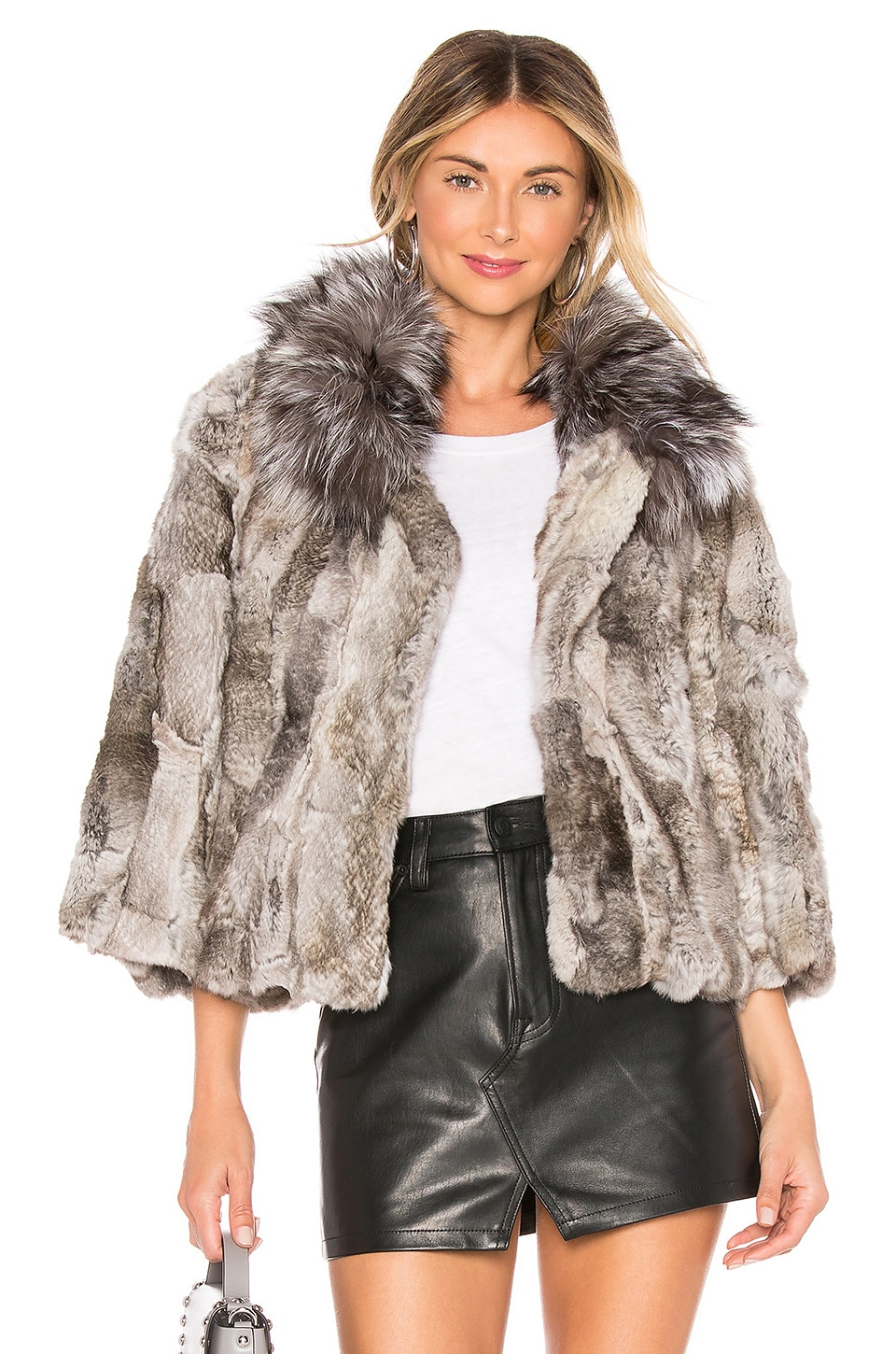 Fur Collar Rabbit Jacket