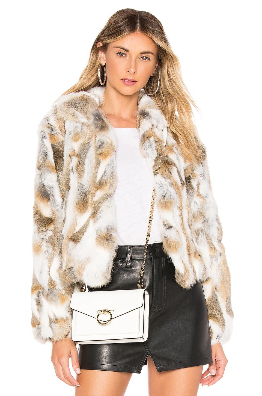Textured Rabbit Jacket