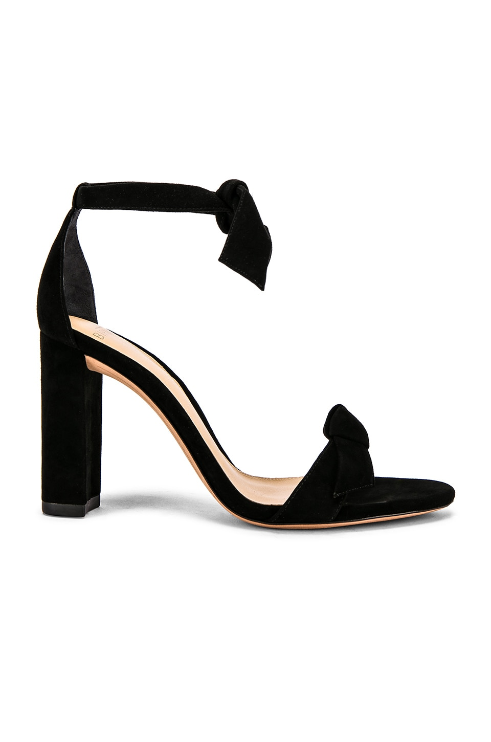 Alexandre Birman Clarita Block Sandal in Black