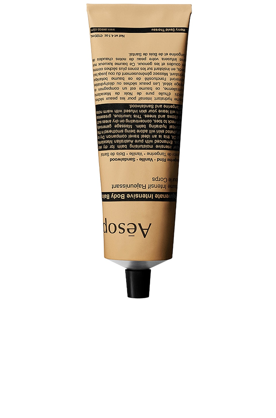 Aesop Rejuvenate Intensive Body Balm Tube
