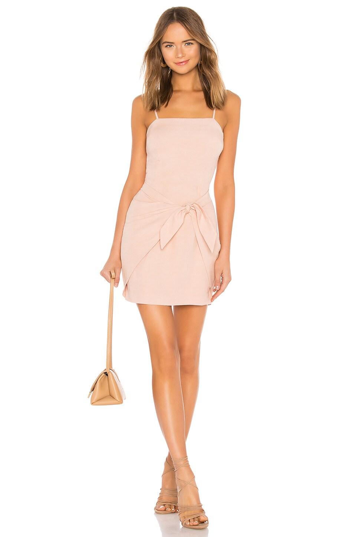 AUTEUR X Revolve Naomi Dress in Blush
