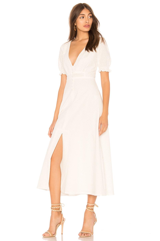 AUTEUR Sienna Dress in White