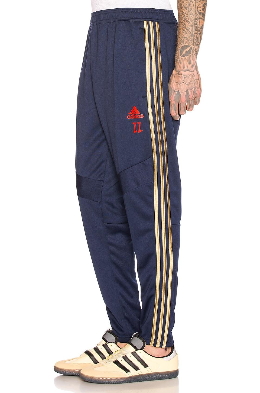 adidas Football Tiro Predator Zidane Pants in Navy & Red