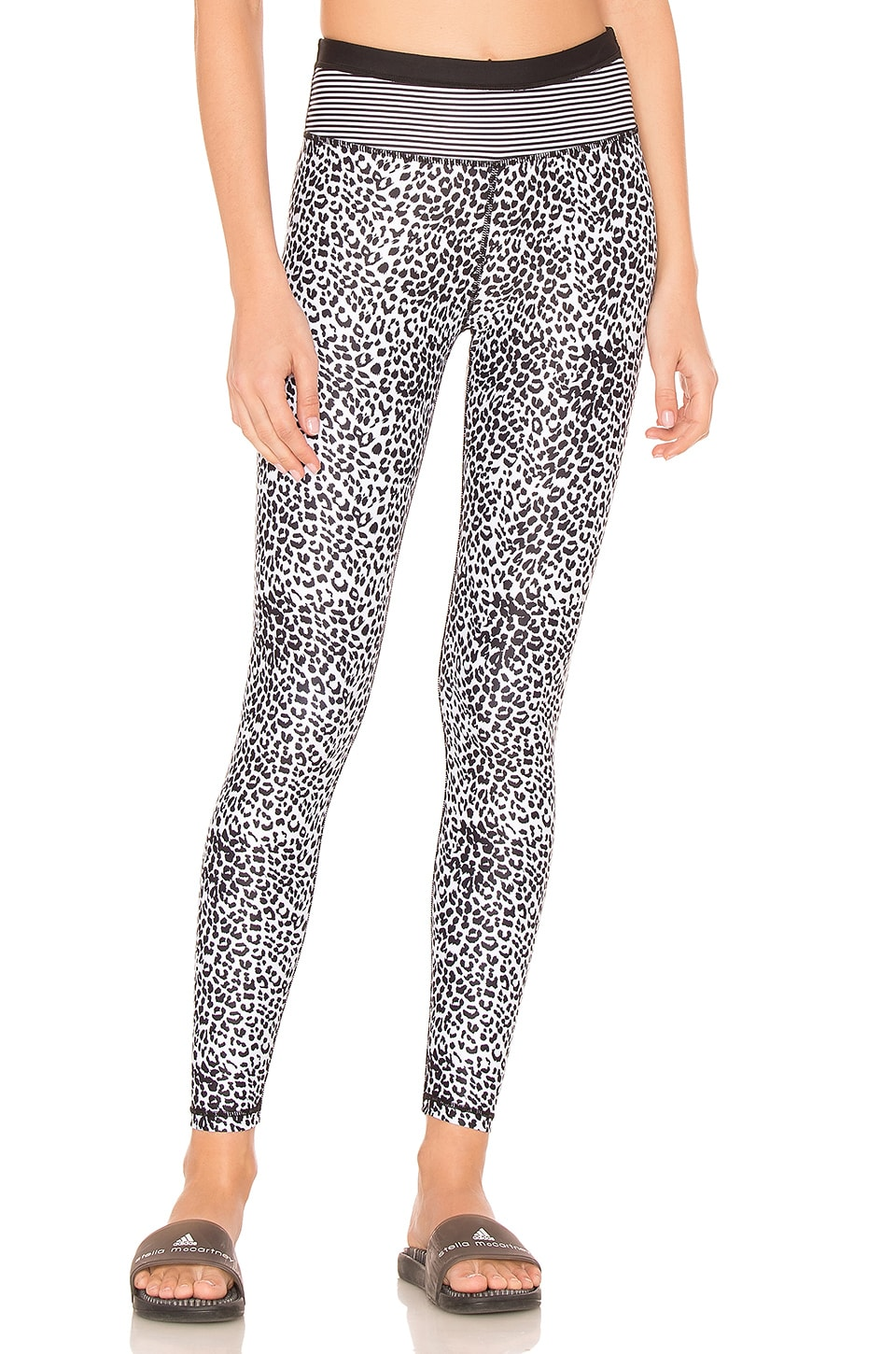Striped Leopard Legging