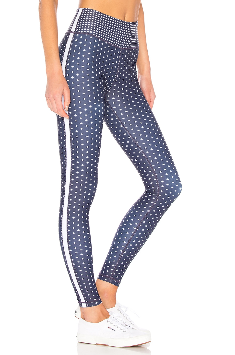 ALL FENIX Indie Full Length Pant in Navy