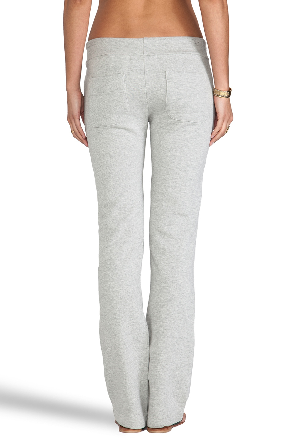 A Fine Line Phoenix Welt Pocket Sweatpants in Heather Grey