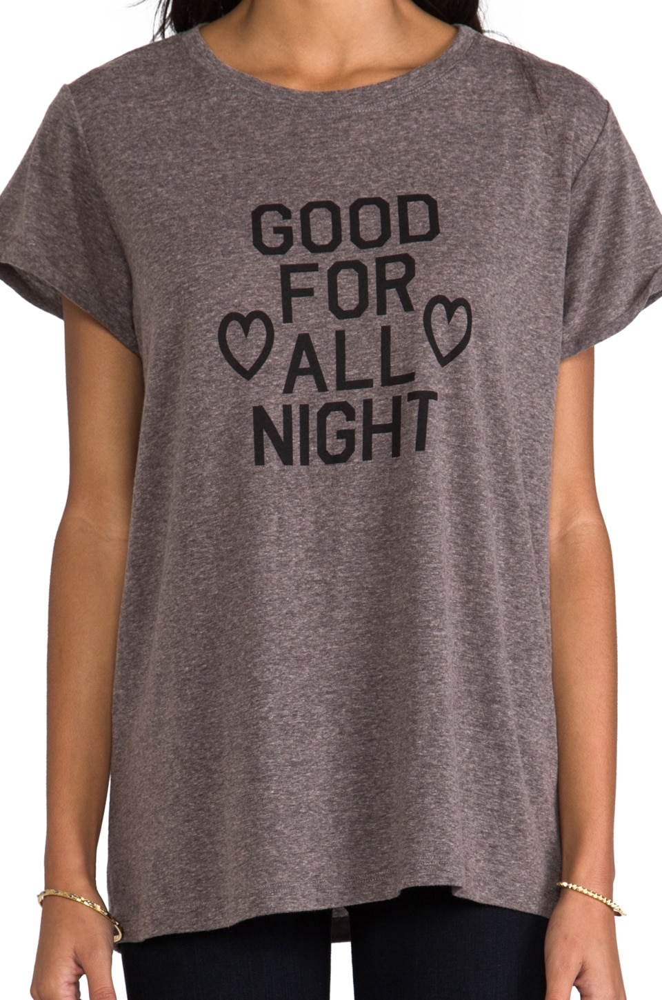 "A Fine Line Hastings ""All Night: Tee in Heather Grey"