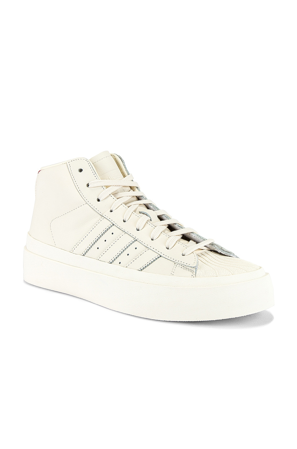 adidas x 424 Pro Model 80S in Chalk White & Chalk White & Chalk White