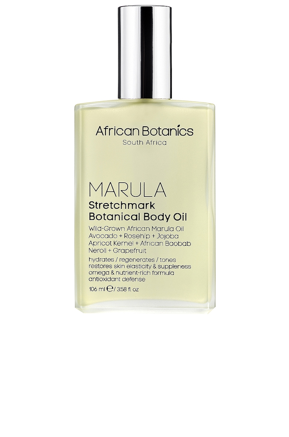 African Botanics Marula Stretch Mark Botanical Body Oil