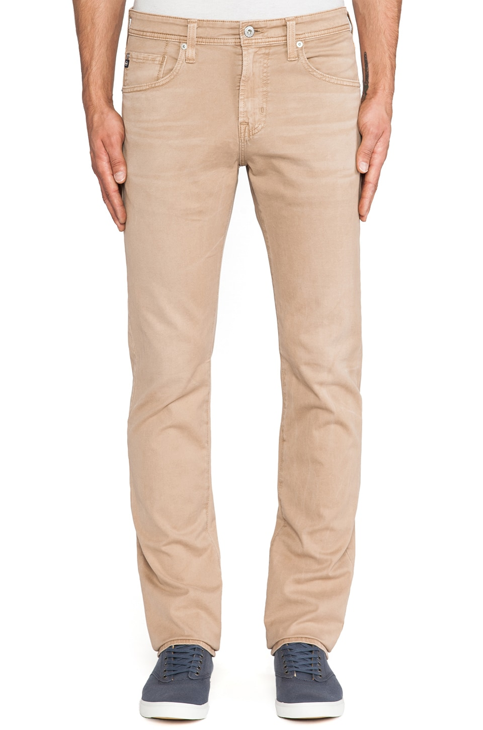AG Adriano Goldschmied The Matchbox in Sulfur Willow Beige