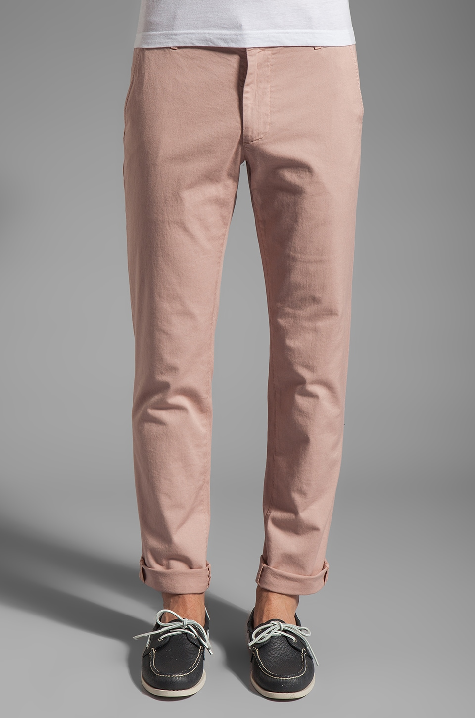 AG Adriano Goldschmied The Slim Khaki in Misty Rose
