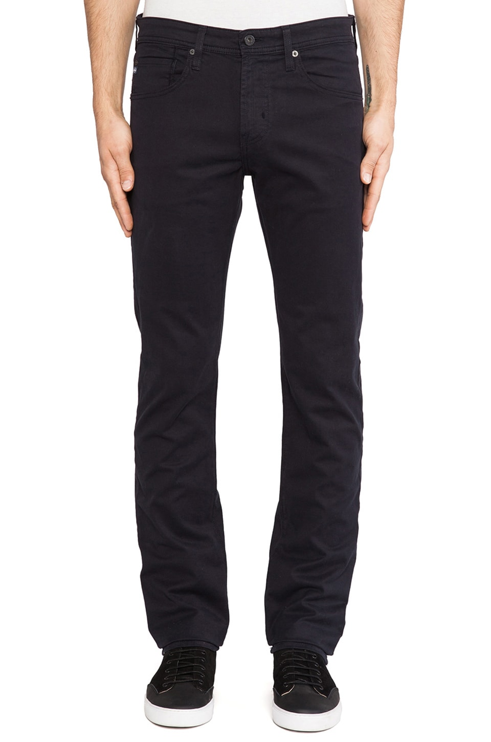 AG Adriano Goldschmied Matchbox Twill in Midnight