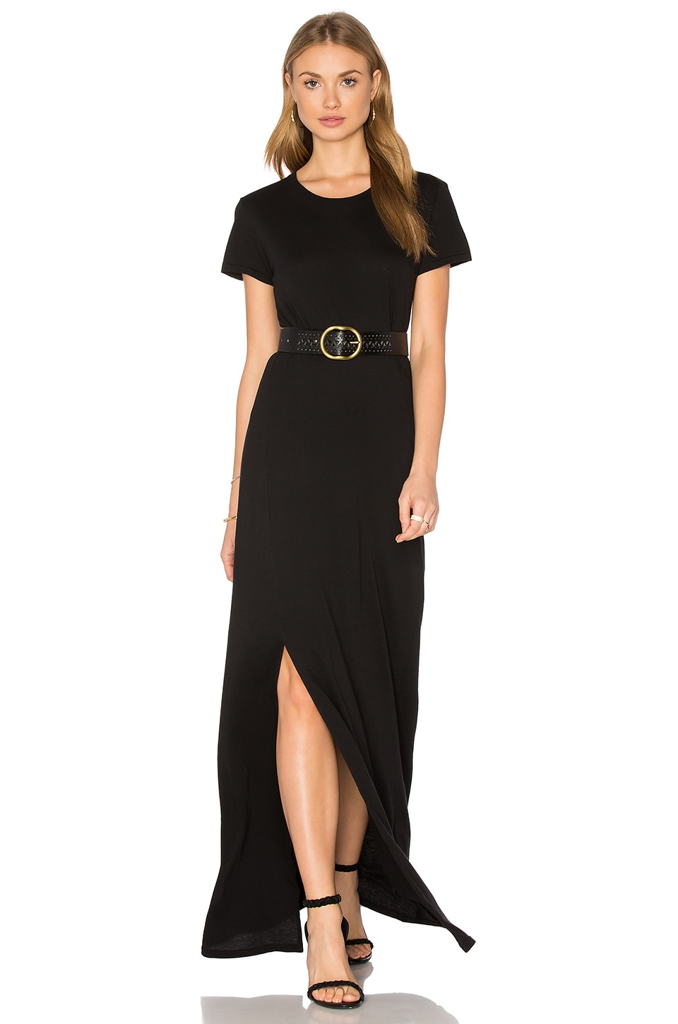 AG Adriano Goldschmied Lutz Dress in True Black