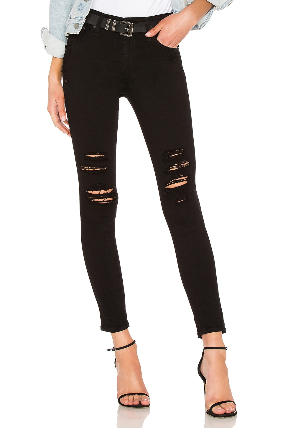 Farrah Skinny Ankle Jean. - size 28 (also in 23,24,25,26,27,29,30) AG - Adriano Goldschmied