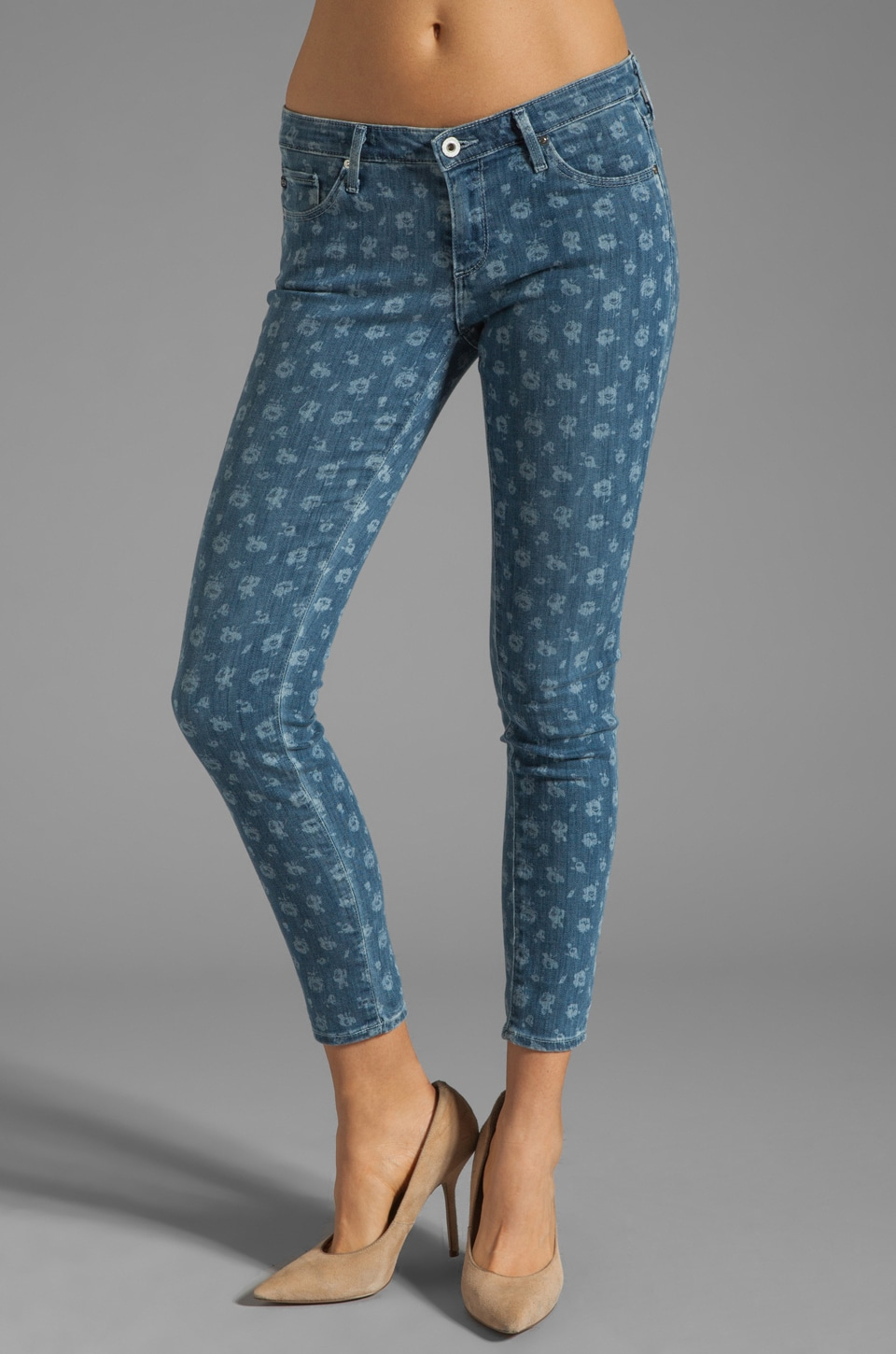 AG Adriano Goldschmied The Legging Ankle Jean in Bianca