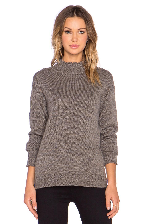x Alexa Chung Scotland Sweater by AG Adriano Goldschmied