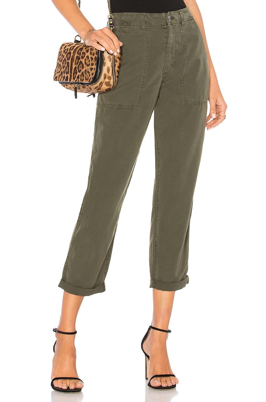 'The Prima' Cigarette Leg Skinny Jeans, Olive